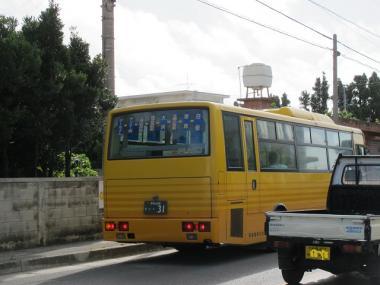 石垣島 ターミナル‐白保線のバス
