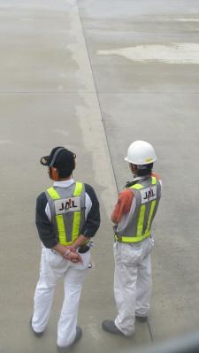 JAL職員さん