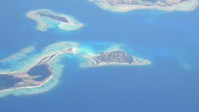 伊平屋島と伊是名島