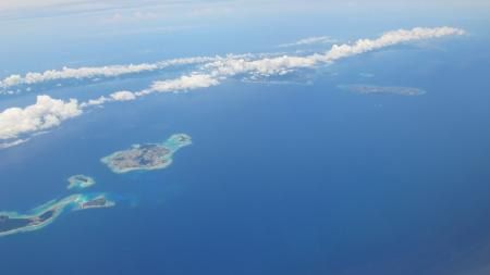 伊江島と沖縄本島
