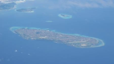 伊江島と瀬底島