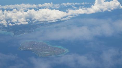 伊江島と美ら海水族館