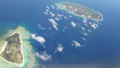 水納島と多良間島