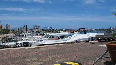 旧離島(パナリ)桟橋