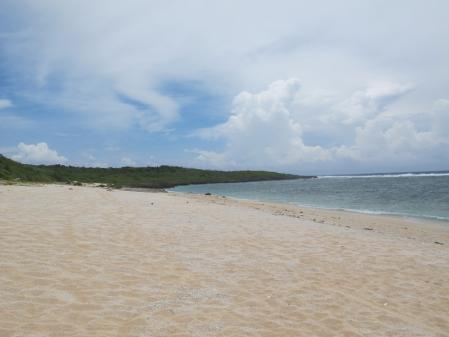 ペムチ浜から最南端