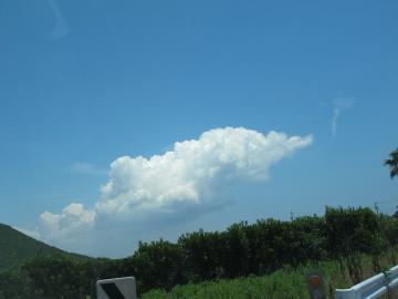 モグラな雲