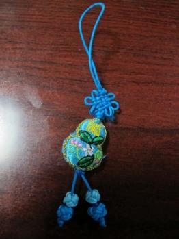 中国の刺繍のストラップ