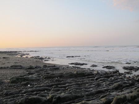 7月23日AM5時20分の尾高海岸