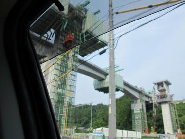 第二東名建設中