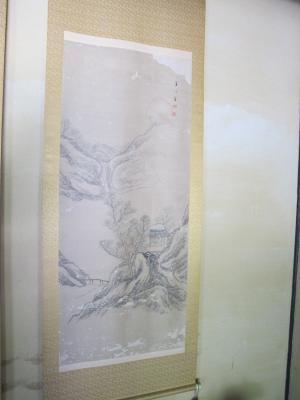 蜂谷蘭渓の掛け軸