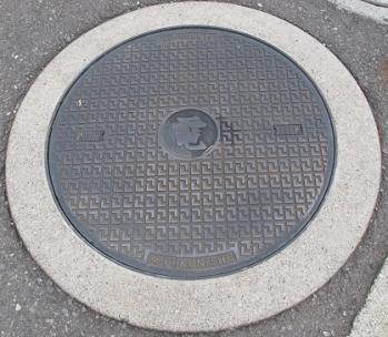 横浜 電気マンホール