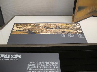 江戸名所図屏風