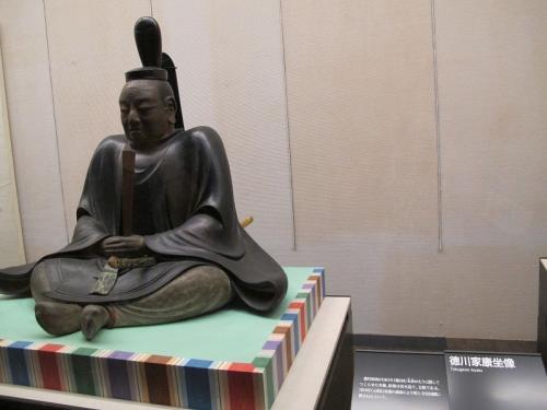 徳川家康坐像