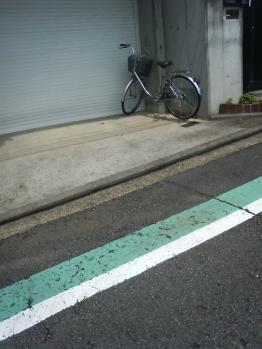 淋しい自転車