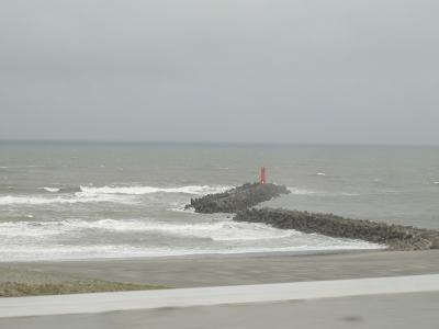 台風12号な遠州灘