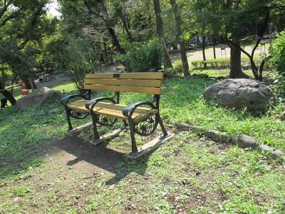 銀杏のベンチ