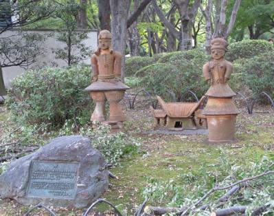 日比谷公園 埴輪