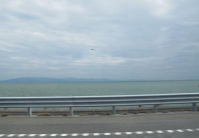 東名高速から