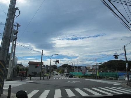 2011年10月15日の空