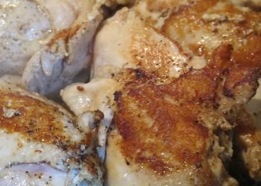 こんがり鶏胸肉