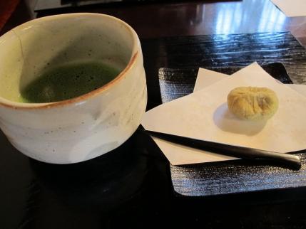栗きんとんセット 抹茶