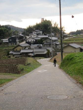 神坂の集落