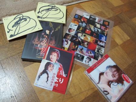 CD・DVDと頂いたもの