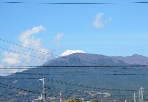 セーターを着た富士山