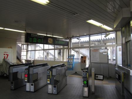 天竜川駅改札