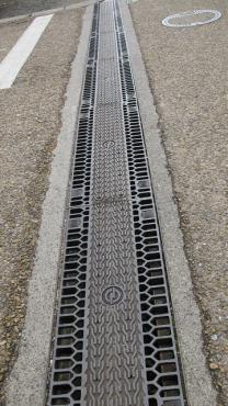 関宿 側溝の蓋