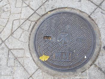 大阪 森ノ宮 マンホール