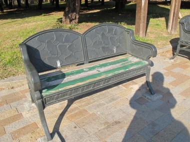 大阪城公園 ベンチ