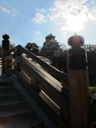 大阪城公園 極楽橋