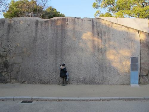 桜門桝形の巨石