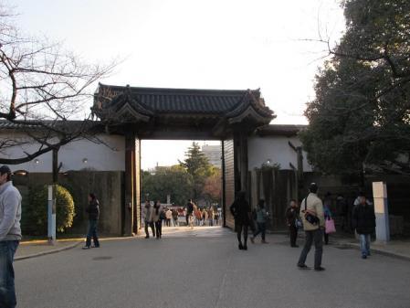 大阪城公園 桜門