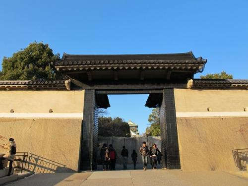 大阪城 桜門