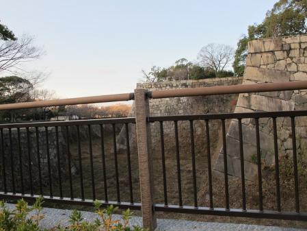 大阪城 空堀