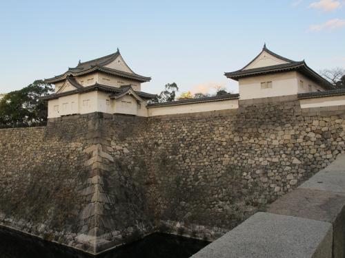 大阪城 大手門から天守閣