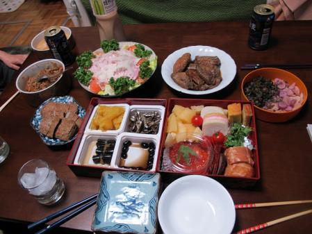 2012年1月5日の晩ご飯