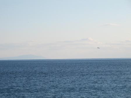 西湘P.Aから見た海