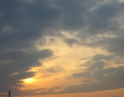2012年1月17日の空