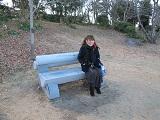 心底冷たいベンチ