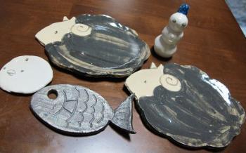 MSちゃんの陶芸作品
