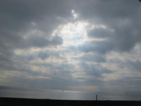 バレリーナの空と船