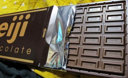 超巨大明治ミルクチョコレート