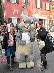 とんすけ(Thumper)と