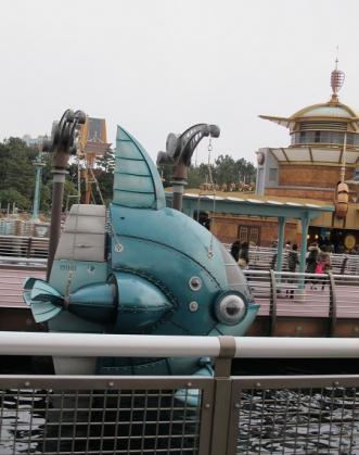 マンボウ型潜水艇