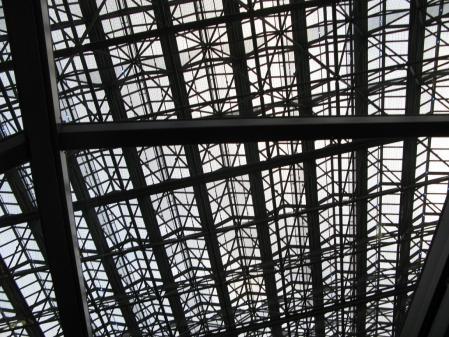 新宿NSビル天井