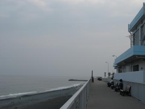 湘南の海 箱根方面側