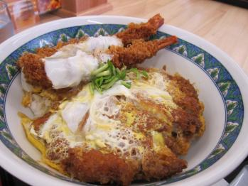 海老&カツ丼